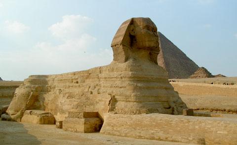 Egyptische Sphinx.