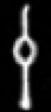 Oud-Egyptisch hieroglief van een instrument.