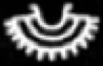 Oud-Egyptisch hieroglief van een krans.