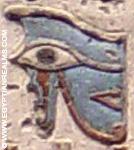 Oud-Egyptisch hiëroglief van het rechteroog.