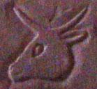 Oud-Egyptisch hiëroglief van een os.