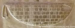 Oud-Egyptisch hieroglief van een Mand met greep.