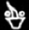 Oud-Egyptisch hieroglief van een vaas.