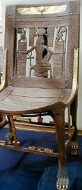 Egyptische stoel.