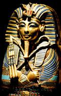 Sarcofaagkist van Tutankhamun.