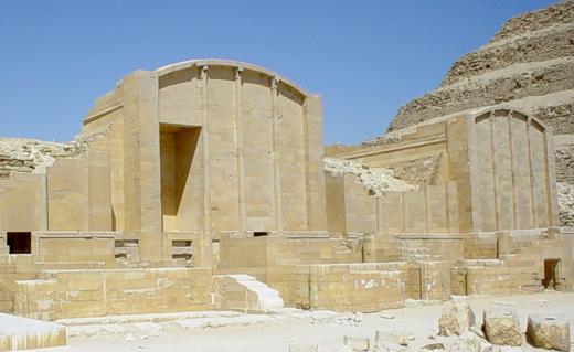 Architectuur Saqqara.
