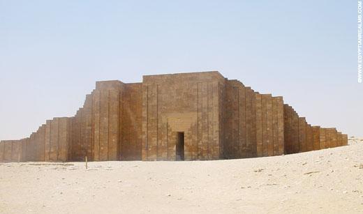 Tempel in Saqqara.