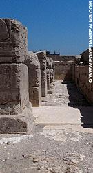 Gallerij in de tempel van Ramses I.