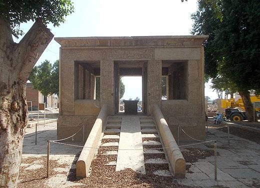 Witte Kapel van farao Senusret I.