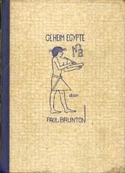 Geheim Egypte, Paul Brunton.
