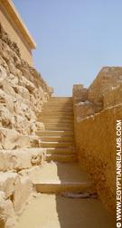 Trap bij Saqqara.