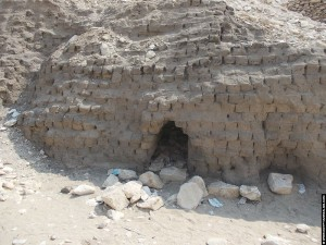 Kleistenen van de grafheuvel