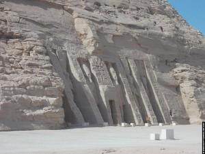 Tempel van Nefertari te Abu Simbel