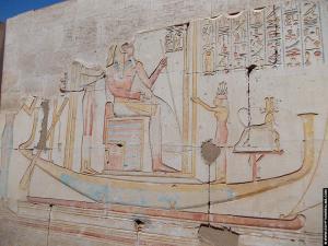 Relief op de tempel van RamsesI