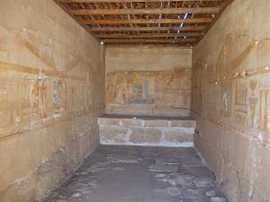 Vertrek in de tempel van RamsesI