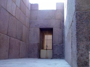 Grote Sphinx Daltempel portaal