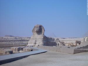 Grote Sphinx Daltempel restanten