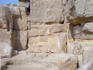 kalkstenen blokken