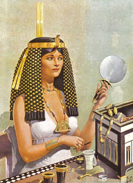 Impressie van prinses Sit-Hathor-Yunet