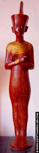 Beeldje van Tutankhamun.