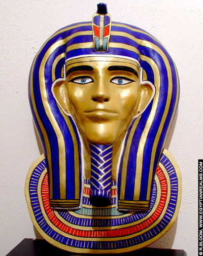 Wandtableau in Egyptische stijl. Copyright egyptianrealms.com