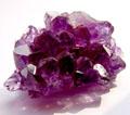Amethyst kristal.