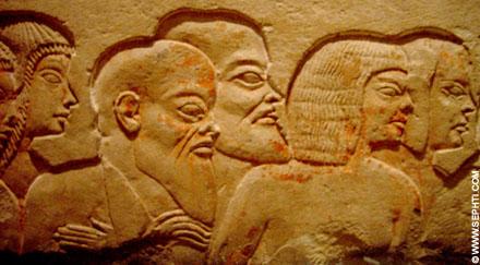 Volk uit het oude Egypte.