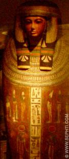Egyptische sarcofaag kist.