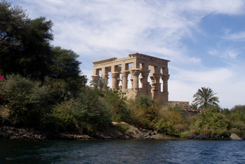 Tempel van Philea in Aswan.