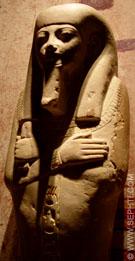 Groot Ushabti figuur.