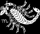 Sterrenbeeld Schorpioen.