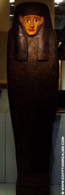 Egyptische mummiekist.