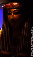Egyptische sarcofaagkist.