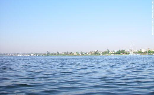 Rivier de Nijl.