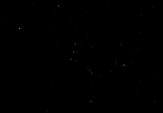 Constellatie Orion.