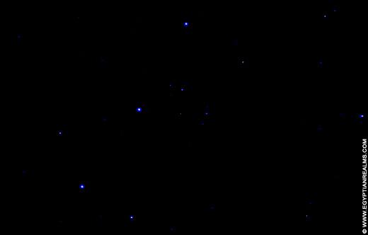 Sterren van Orion.