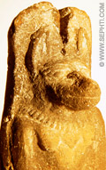 Sculptuur Anput.