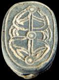 Onderzijde van de Kever met patroon.