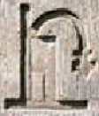 Ancient Egyptian hieroglyph of the throne