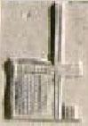 Oud-Egyptisch hieroglief van een weefraam.