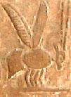 Oud-Egyptisch hieroglief van de Bij.