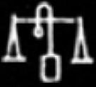 Oud-Egyptisch hieroglief van een weegMand.