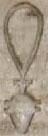 Oud-Egyptisch hieroglief van een talisman.