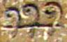 Oud-Egyptisch hieroglief van krul.