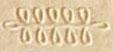 Oud-Egyptisch hieroglief van een amulet.
