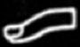 Oud-Egyptisch hieroglief van een vinger.
