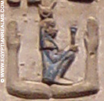 Oud-Egyptisch hiëroglief van armen.