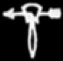 Oud-Egyptisch hiëroglief van een dierehuid.