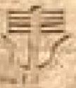 Oud-Egyptisch hiëroglief van horens.