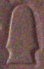 Oud-Egyptisch hieroglief van een altaar.
